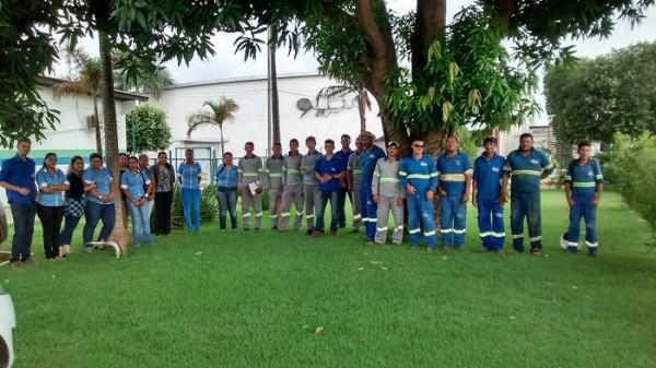 Sintaesa realiza assembleias nas empresas do Grupo Águas do Xingu para discutir o vale alimentação