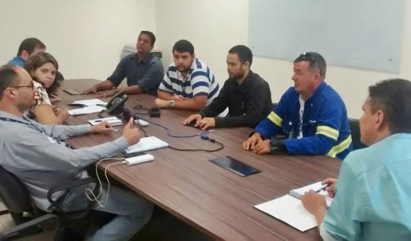 Direção do Sindicato participa de reunião com a equipe administradora da CAB Cuiabá