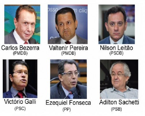 Veja como votaram os deputados de MT no projeto de terceirização irrestrita